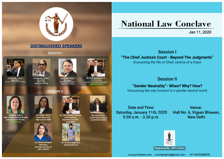 National Law Conclave 2020